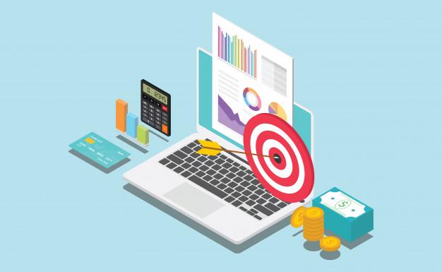 empresa financeira isometrica ou alvo pessoal 65709 21 1 - O Que é Marketing de Afiliados? E quais Atitudes de um Afiliado de Sucesso