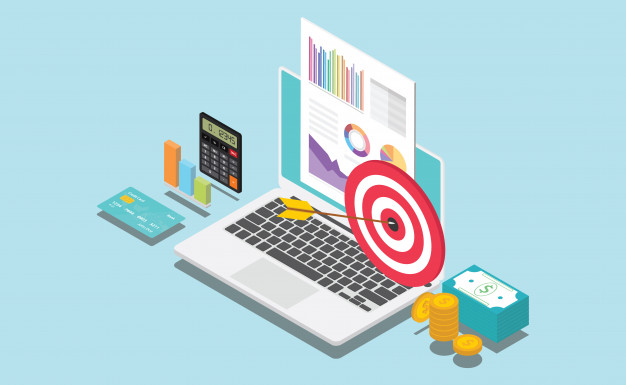 empresa financeira isometrica ou alvo pessoal 65709 21 - Como Criar Blog Profissional em WordPress e Fazer Vendas Online