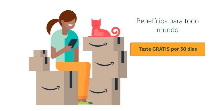 TESTE GRATIS AMAZON PRIME - Amazon Prime Faça o Teste Grátis do Conteúdo Mais Procurado nos EUA!