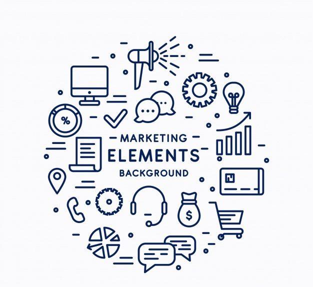 fundo de elementos de marketing circular 23 2147748404 e1569946603589 - Marketing Afiliados Como Começar Em 07 Passos Simples