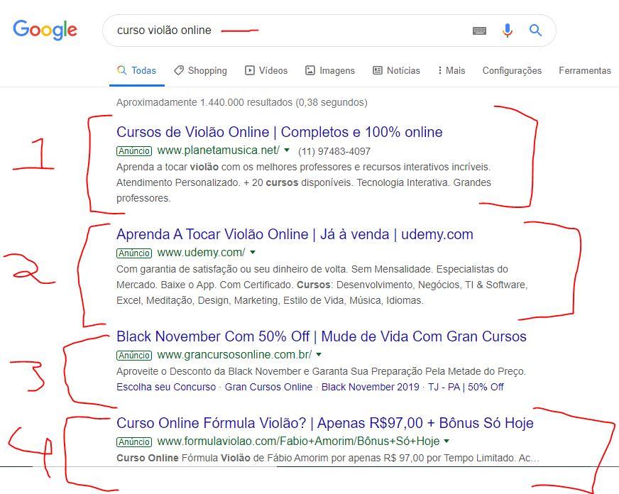 anúncios google rede de pesquisa - Google Ads Para Afiliados Palavras Chaves Com Orçamento Baixo
